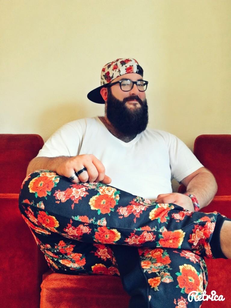 Flower Print Jogginghose DJ Martin Rapp