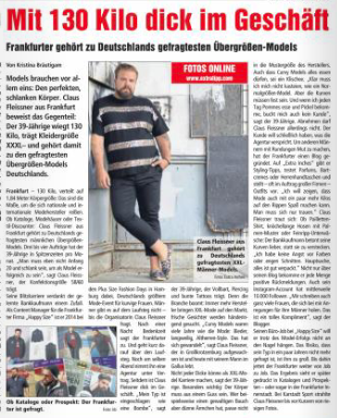 Extra Tipp Rhein Main Claus Fleissner XXL Model Plus Size Model Blog Blogger