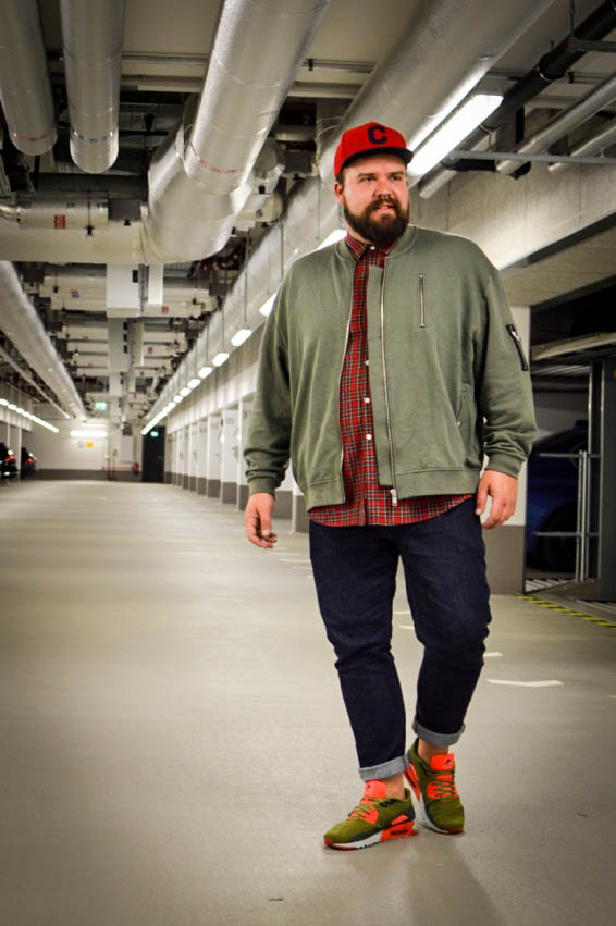 Sweatshirt Bomberjacke in XXL