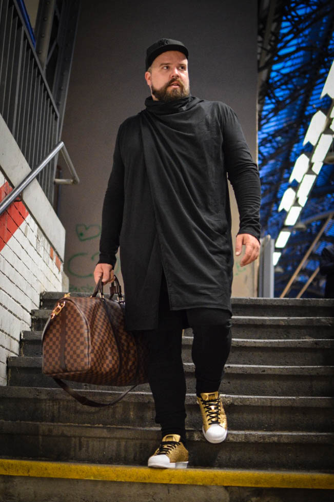 All black everything Plus Size Hipster Style