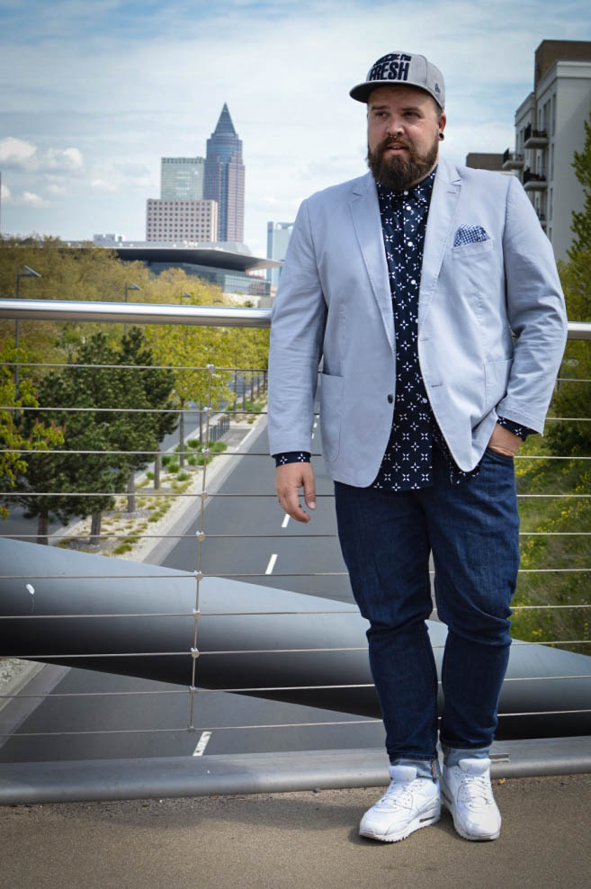 ZDF Volle Kanne Male Plus Size Model Claus Fleissner