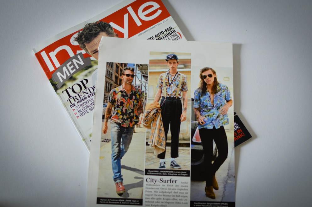 Trend 2016 Hawaii Hemd Tropical Shirt Male Plus Size Fashion Model Blog Blogger Claus Fleissner