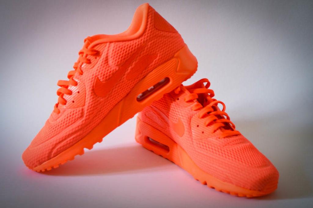 Nike Air Max neon orange Male Plus Size Blog