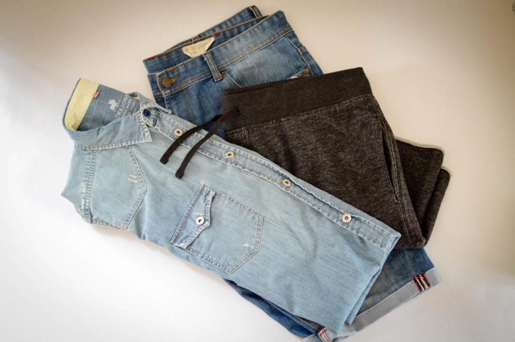 DIY Do It Yourself Plus Size Fashion pimp your outfit iron on patches Bügelbilder Aufbügeln Male Plus Size Fashion Blog Blogger Model Claus Fleissner