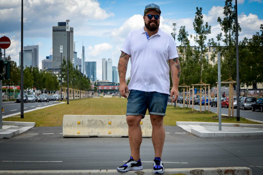 Polos Shirt XL Promodoro Summer Style Male Plus Size Fashion Model Blog Blogger Claus Fleissner