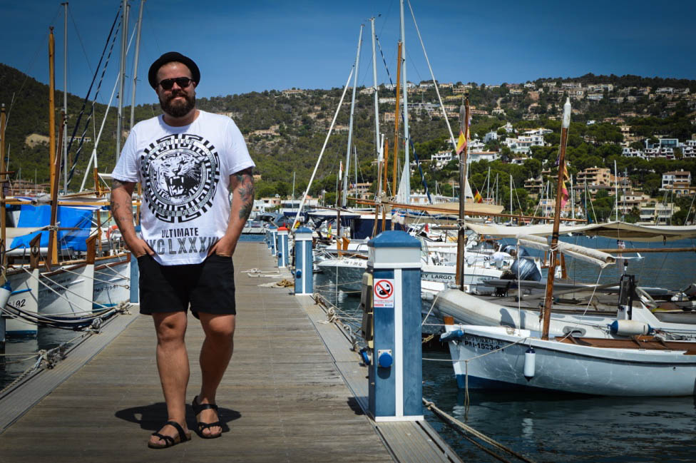 Urlaub-Outfits Vacation Holidays Mallorca Beach Sun Fun Male Plus size Blog Blogger Model Claus Fleissner