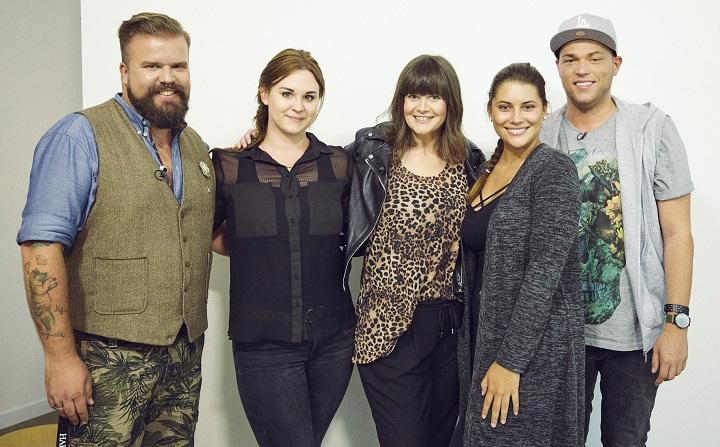 Curvy Supermodel RTL2 Castingshow Happy Size Jury Juror Plus Size Model Gewinnerin Céline Michi