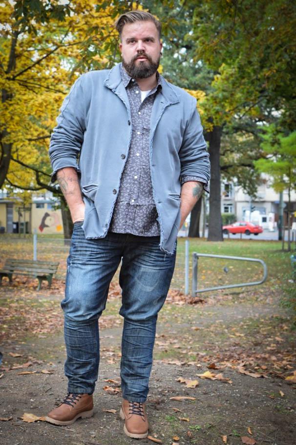 Male Plus Size Blog Blogger Model große Größen Herren Männermode XXL Claus Fleissner bonprix jeans