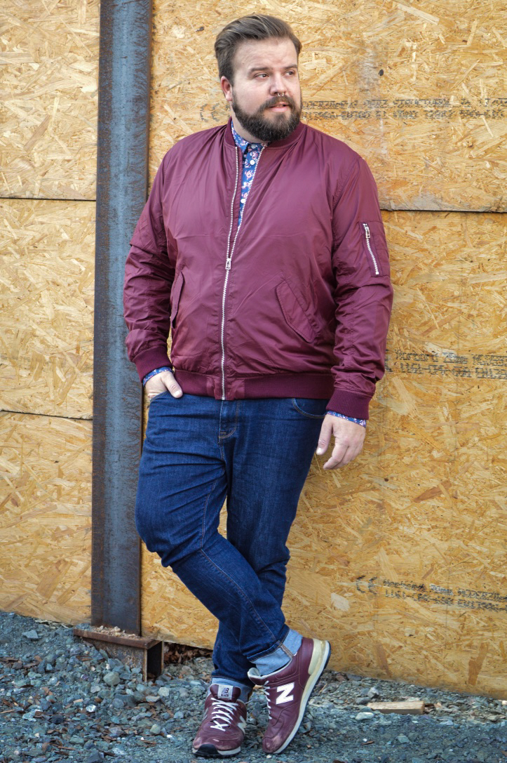 Male Plus Size Model Blog Blogger Claus Fleissner Hm Extended Sizes