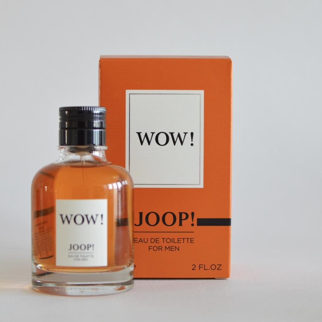 JOOP! WOW! Eu de Toilette Test Erfahrungsbericht Gewinnspiel Gewinn