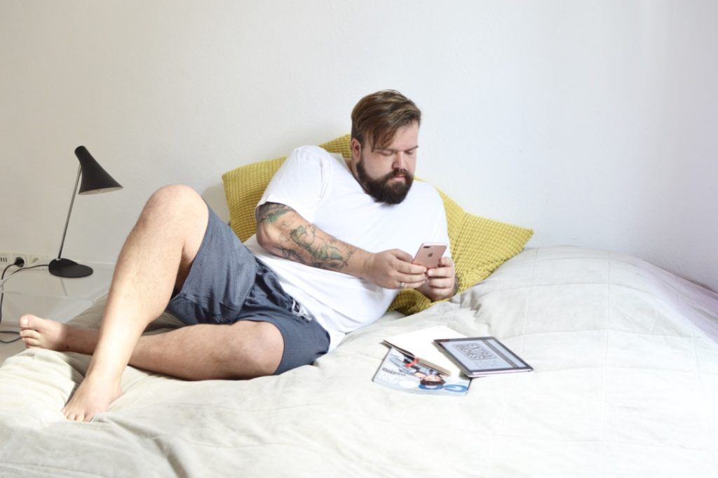 Plus Size Loungewear by mey Plus Size Blogger Model Claus Fleissner