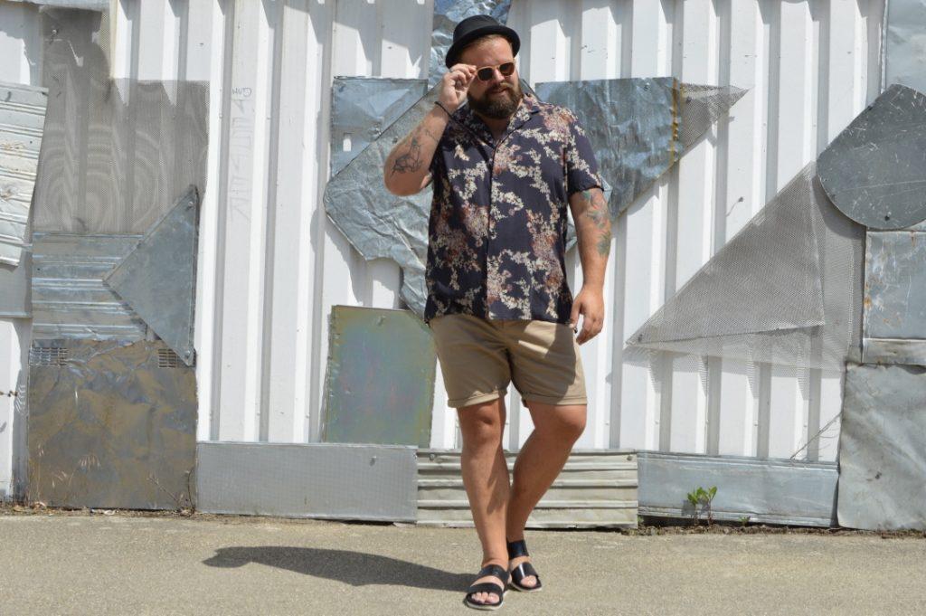 ASOS PLUS Sommer Hemd summer shirt asia print