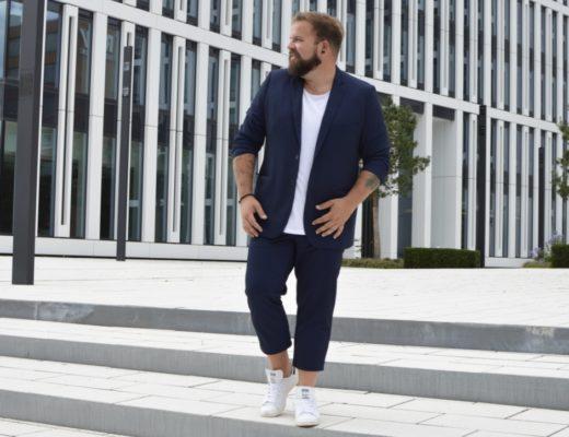 Jersey Anzug Happy Size