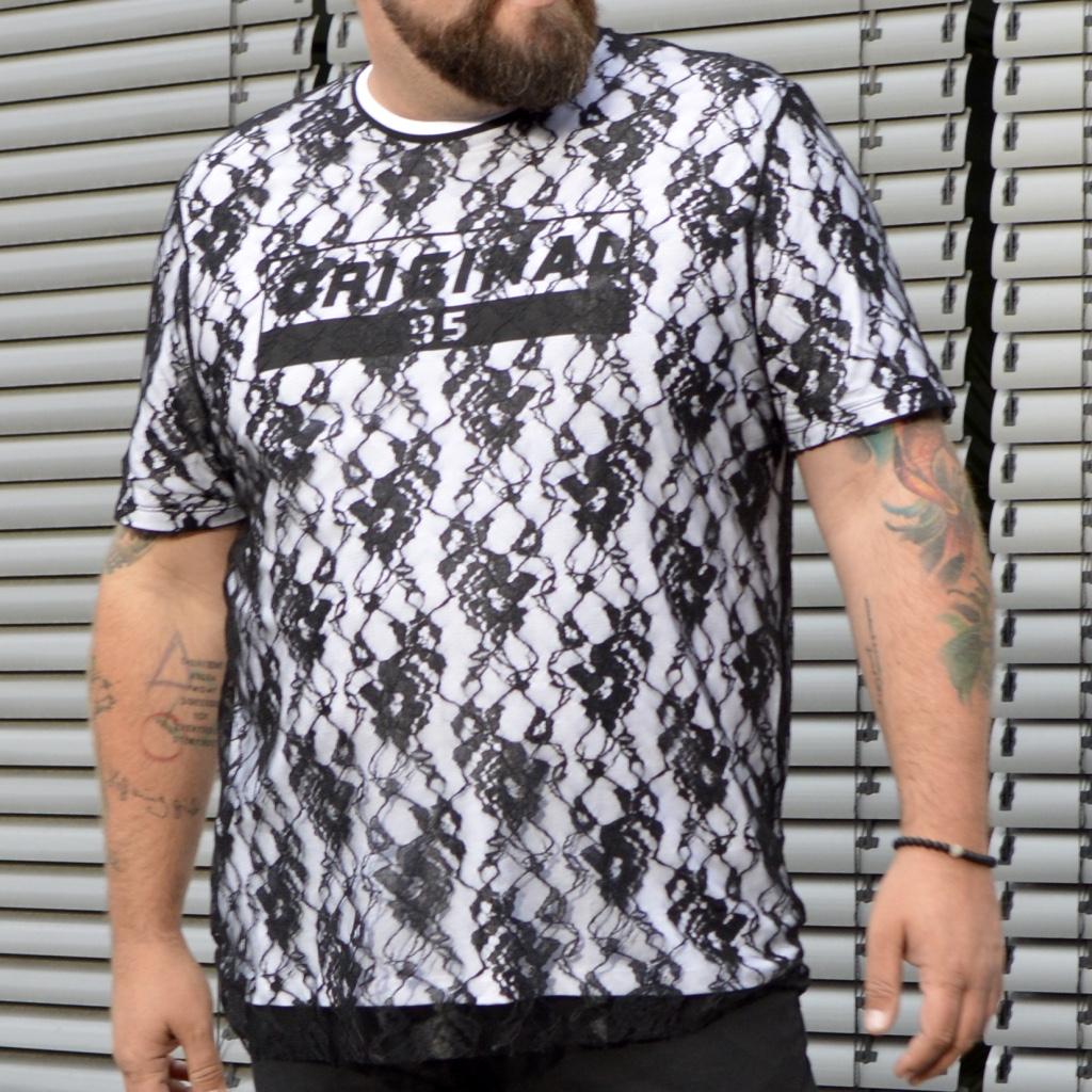 ASOS PLUS Shirt aus Spitze lace