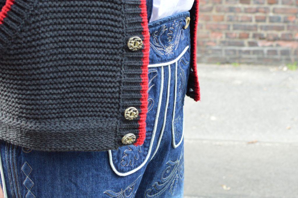 bonprix Trachten Jeans Denim