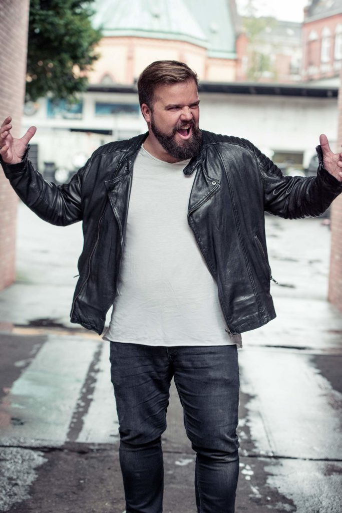 Claus Male Plus size Model KULT Model Agency