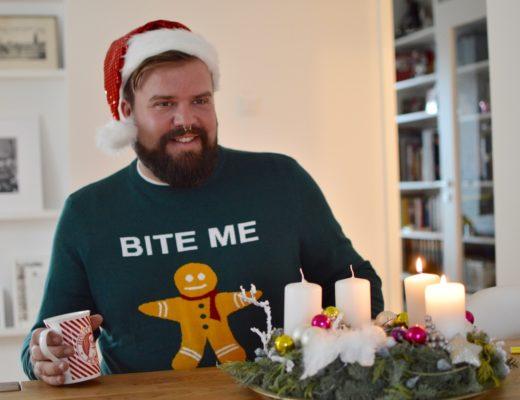 Weihnachtspullover bonprix Plus Size große Größen ugly sweater
