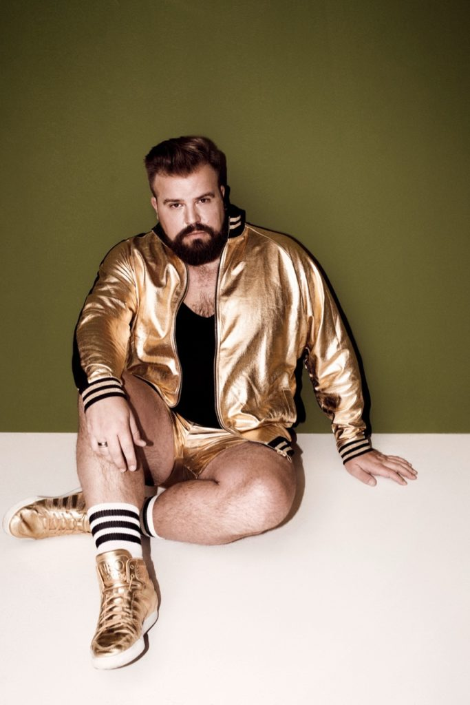 Gold Hot Pants College Jacket Sneaker ASOS PLUS