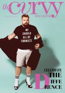 Cover The Curvy Magazine Claus