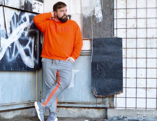 ASOS PLUS Athleisure Plus Size Orange