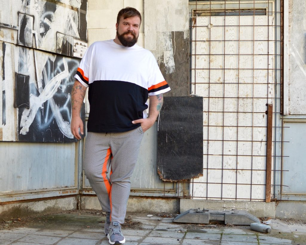 ASOS PLUS Athleisure Plus Size Orange