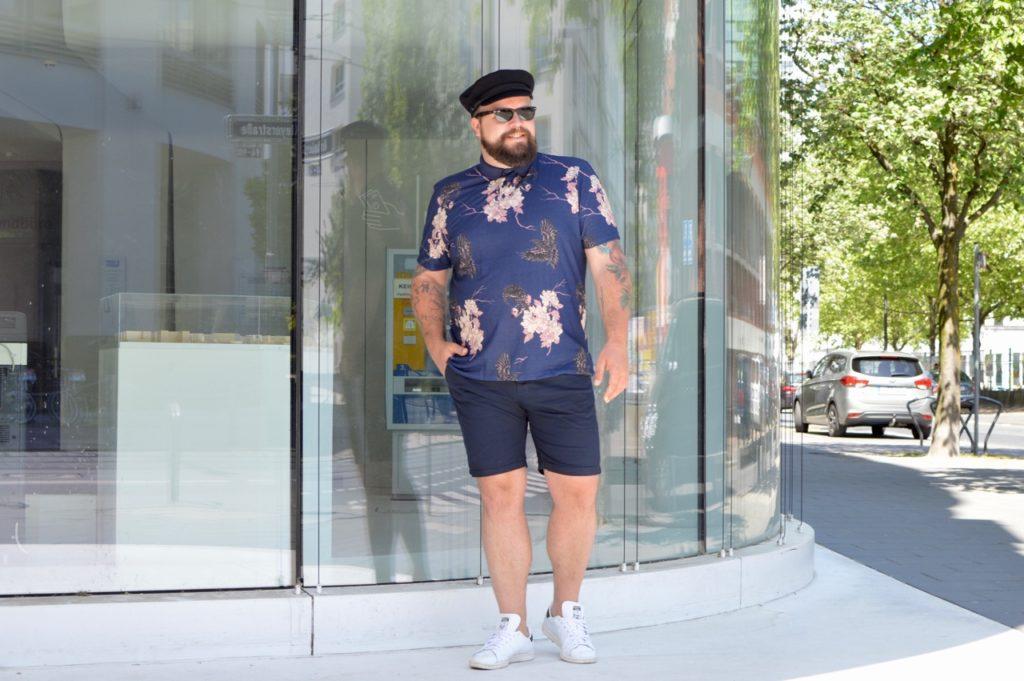 Asos Plus Sommer Outfit summer bermudas polo
