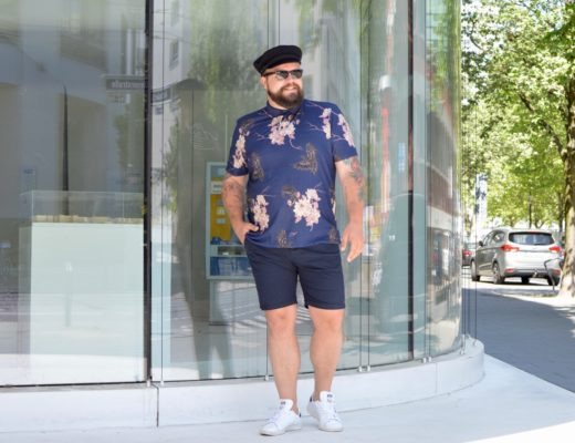 Asos Plus Sommer Outfit summer bermudas polo