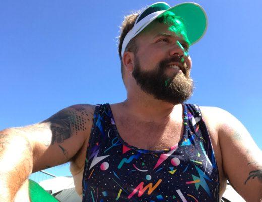 Claus Fleissner Male Plus Size Festival Look Outfit Southside Coachella ASOS PLUS