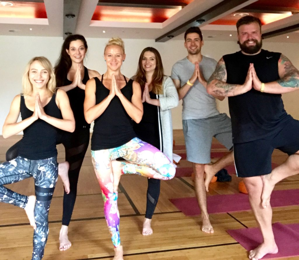 Yoga Wellness Fitness Meridian Spa Frankfurt