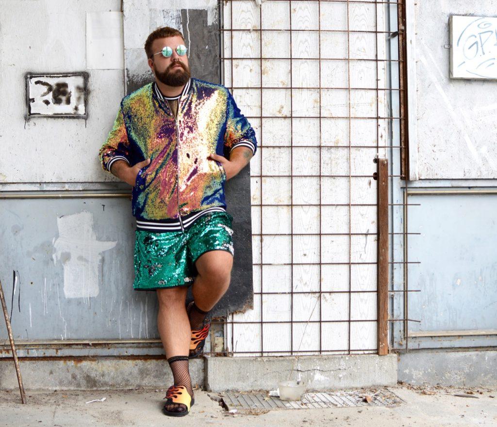Asos Plus Paillette sequins Party Outfit Plus Size Fashion Days