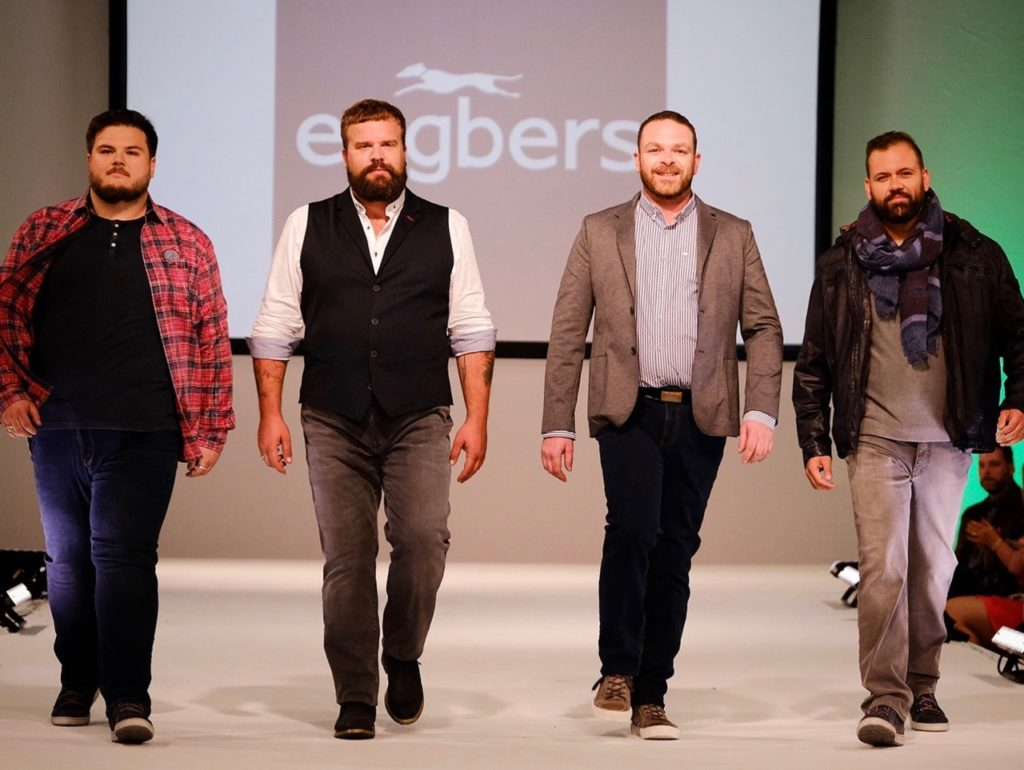 Plus Size Fashion Days Hamburg Models Catwalk Runway Claus Fleissner Male Model
