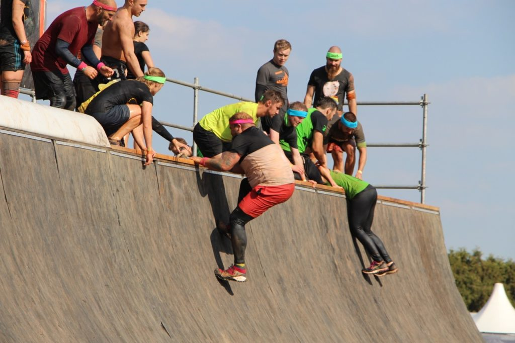 Tough Mudder Meridian Spa Fitness Plus Size Sport