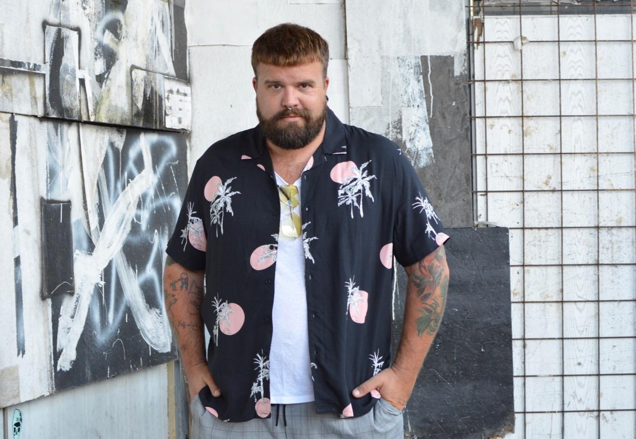 3d2cca2a372993 New Look Men Plus Size Asos Shirt Hemd Hawaiian Print summer outfit Sommer