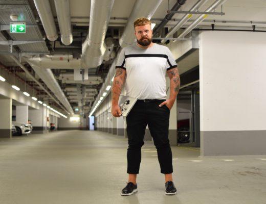 ASOS Plus T-shirt business casual