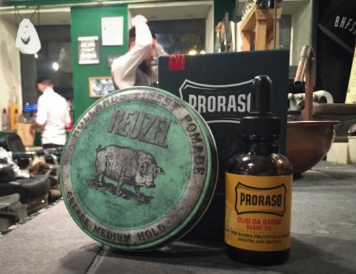 Barbershop Bartöl und Pomade