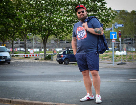 natobo.de Outfits Male Plus Size Model Blogger Claus Fleissner