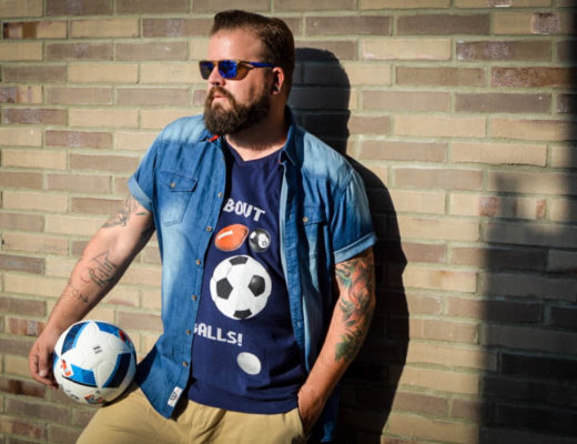 EM Euro 2016 Outfit BadRhino Plus Size Model Blog Blogger Claus Fleissner