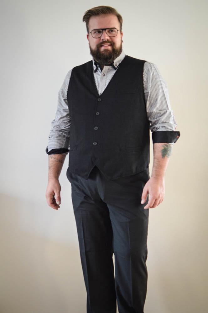 Male Plus Size Model Blog Blogger bonprix it´s me bonprix