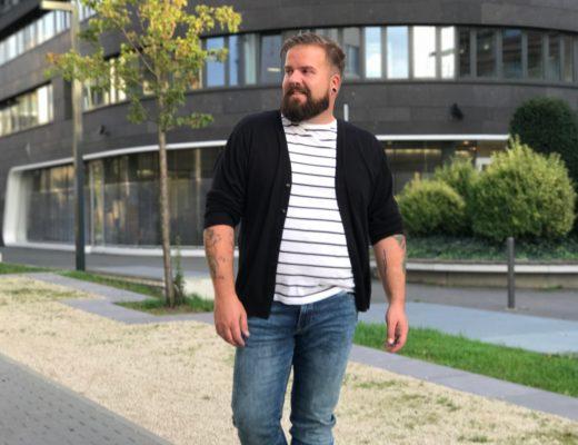 Plus Size Jeans für Männer von Qvadis