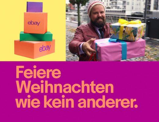 eBay Weihnachtskampagne Xmas campaign Celebrate Christmas like nobody else