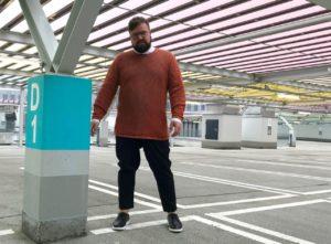 ASOS PLUS Scandi Style Mesh Jumper Knitted Blazer