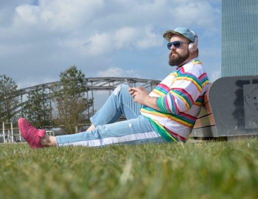 ASOS PLUS Streifen stripes Regenbogen Rainbow sping Frühling