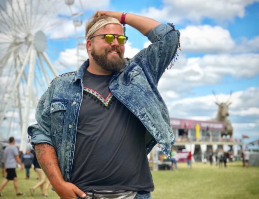 Claus Fleissner Male Plus Size Festival Look Outfit Southside Coachella ASOS PLUS