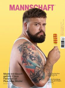 Cover Mannschaft Magazin Claus Fleissner