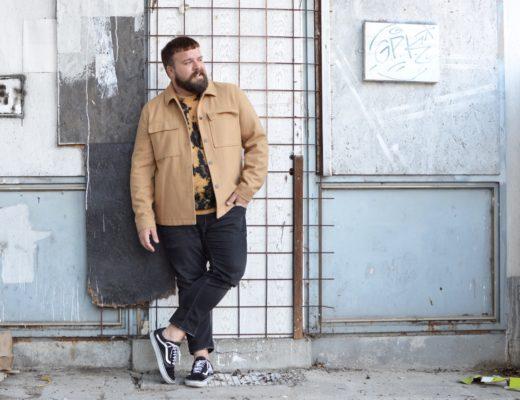 Wolljacke Asos Plus Batik Pullover XXL Plus Size