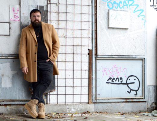 Asos Plus Size große Größe Mantel camel Herbst fall