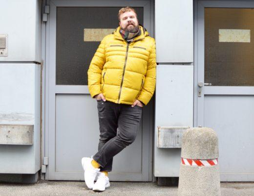 engbers XXL Winterjacke gelb große Größen Plus Size