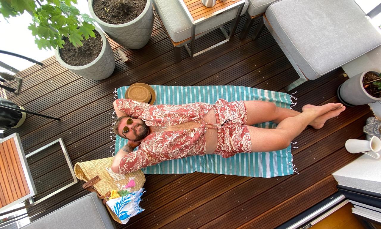 Co Ord Set Beach Strand Badehose Kimono Asos Plus