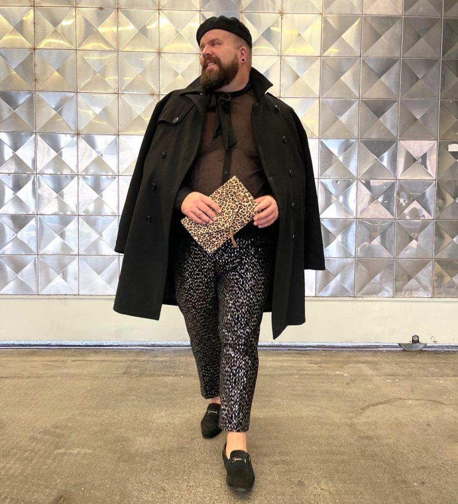 Silvester New Years Eve Outfit Look Asos Plus Size Fashion Sequins Pailletten